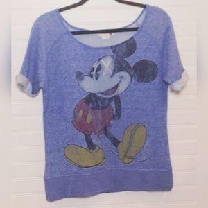 Disney Parks Mickey Mouse Novelty Jersey